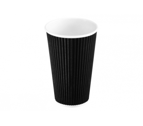Kaffebæger pap 40 cl. 25 stk.