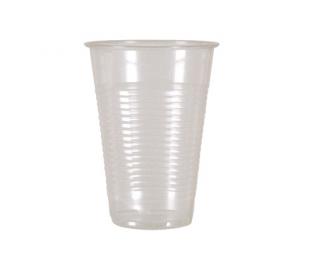 Plastglas klar 40 cl.