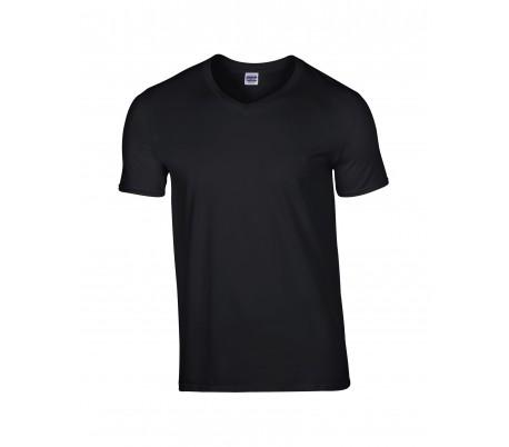T-shirt - V hals - herre