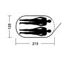 EASYCAMP - ANTIC GRAPHIC - 2 PERSONER
